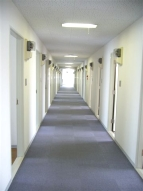 Aタイプルーム 廊下