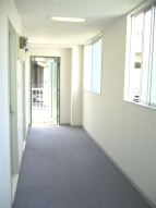 Bタイプルーム 廊下
